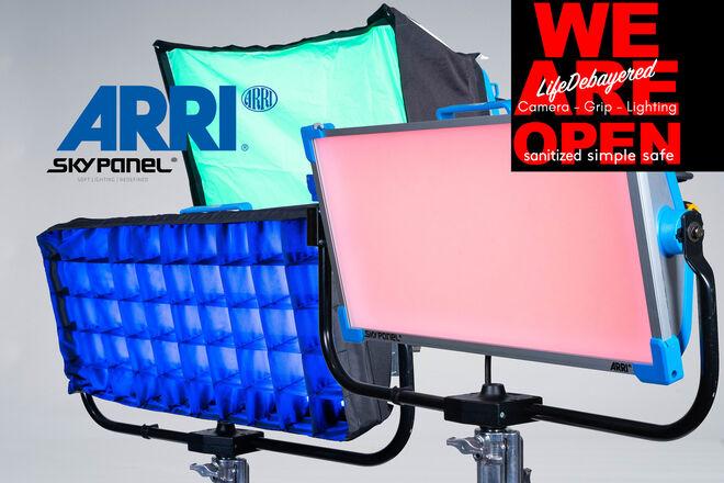ARRI S60-C SkyPanel - Chimera - 40grid - intensifier