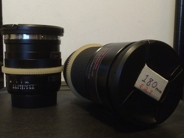 Rent: Anamorphic Adapter and Zeiss ZE primes