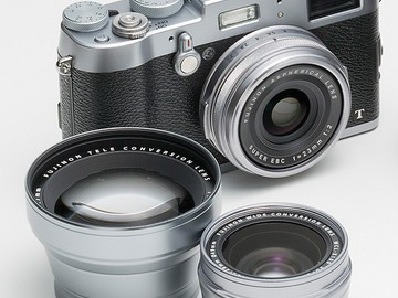 Rent: FUJI X100T Digital Camera with Telephoto & Wide Lens