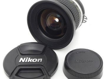 Nikkor AIS 18mm Prime Lens + Fisheye Lens