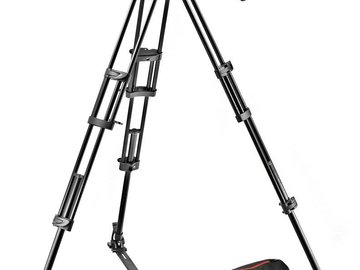 Rent: Manfrotto MVH502A, 546GB-1 Professional Fluid Video System