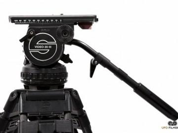 Rent: SACHTLER Video 20 III Tripod w/ Carbon FIber Legs + Hardcase