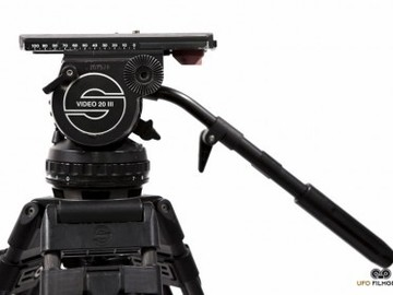 SACHTLER Video 20 III Tripod w/ Carbon FIber Legs + Hardcase
