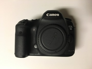 Rent: Canon 5D mkiii  body only
