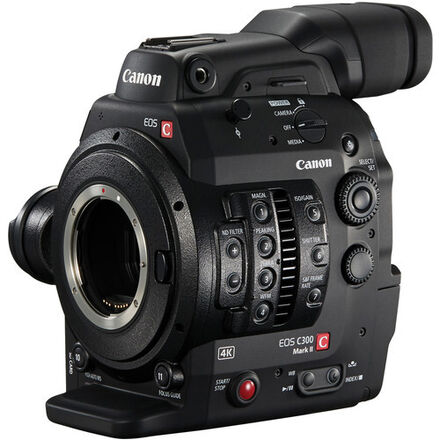 Canon C300 Mkii - w/ CF cards & Touch monitor