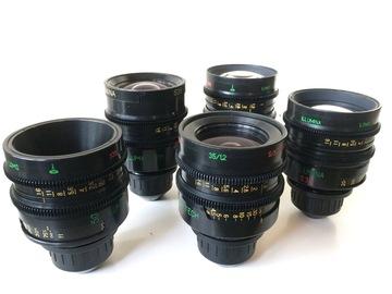 Rent: Illumina S35 Prime Lens Set