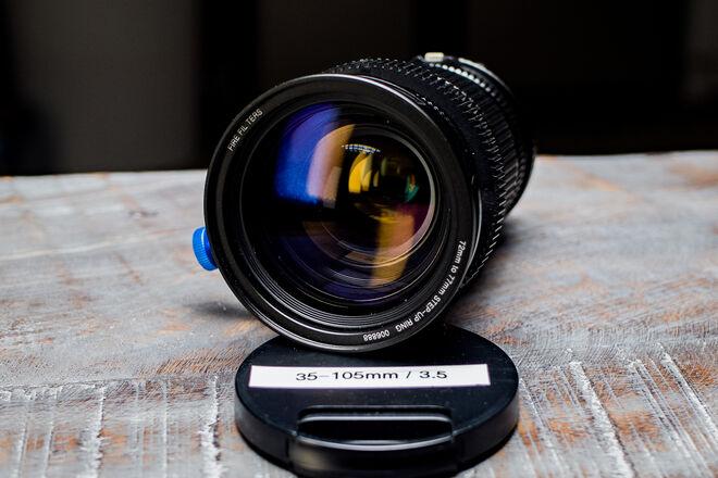 Vintage Canon FD 35-105mm f/3.5 Macro Lens
