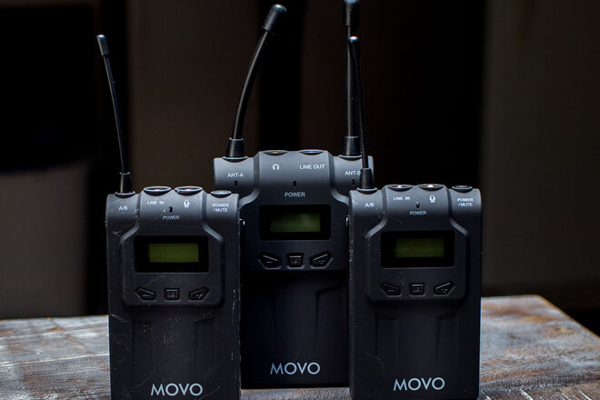 Movo  WMIC 80 Wireless Microphone System