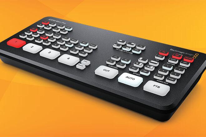 JUST RELEASED: Blackmagic ATEM Mini Pro Switcher