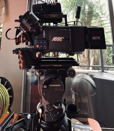 ARRI Alexa Classic+ Complete Kit RB Touch and go plate