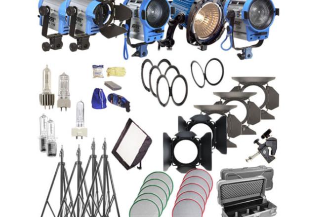 Arri Softbank IV Plus 5 Light Kit (120V AC)