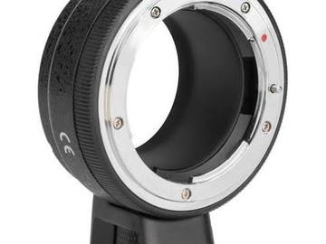 Rent: Sony E mount to Nikon F adapter