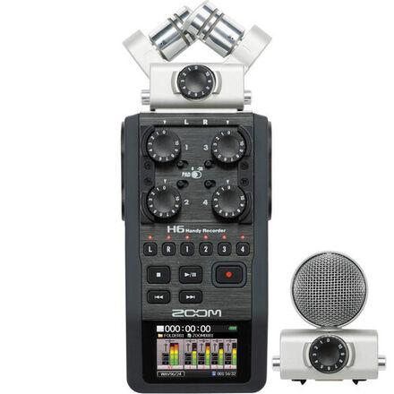 Zoom H6N 5 Track Digital Audio Recorder