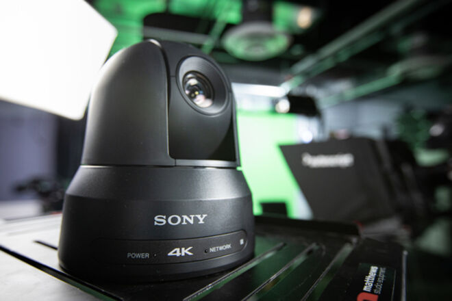 Sony PTZ 4K Cam-- Live Streaming, Remote Control over IP
