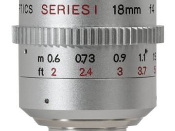 Rent: Digital Bolex Kish 18mm f4 Lens