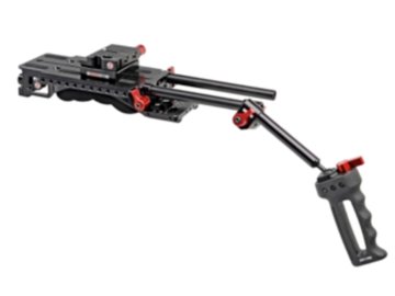 Rent: Zacuto handheld rig with AB plate, VCT shoulder mount, grips