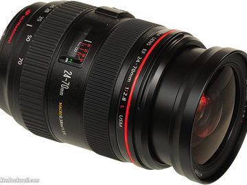Rent: Canon EF Zoom Lens for Canon EF ‑ 24mm‑70mm ‑ F/2.8