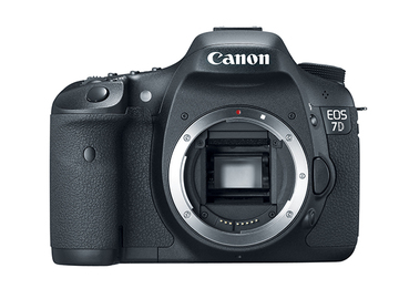 Rent: Canon 7D w/ Batteries and Media