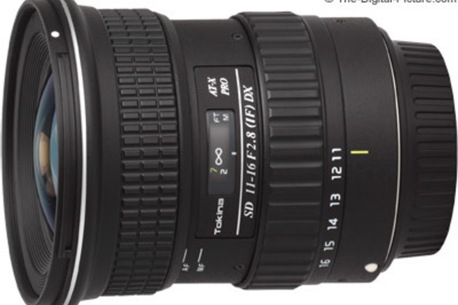 Tokina 11-16mm f/2.8 (IF) DX -EF for Canon