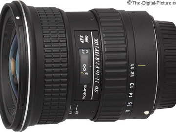 Rent: Tokina 11-16mm f/2.8 (IF) DX -EF for Canon