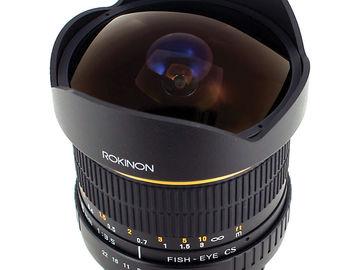 Rent: Rokinon 8mm F3.5 Fisheye Lens for Canon