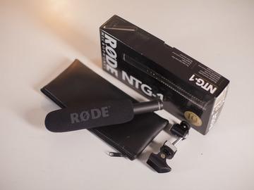 Rent: RODE NTG-1 SHOTGUN / CONDENSOR MICROPHONE