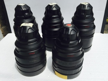 Rent: RED PRO Prime Lenses (18/25/35/50/85 or 100mm)