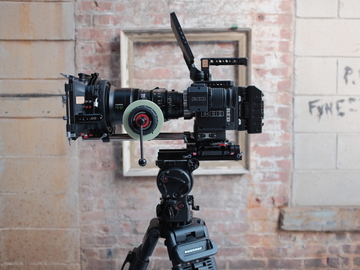 Rent: RED Weapon Helium Camera Package (Complete Kit)