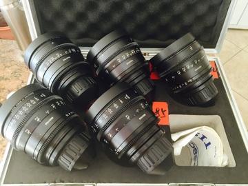 Rent: Arri ultra prime lenses