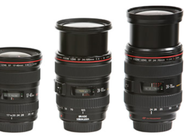 Rent: Canon L series Zoom set 16-35, 24-105, 24-70, 70-200
