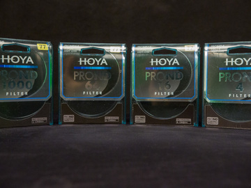 Rent: HOYA PRO ND 77mm FILTER SET (4/16/64/1000)