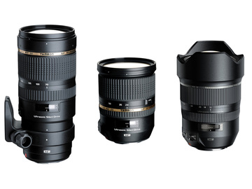 Rent: Tamron f2.8 EF Zoom Set (15-30mm, 24-70mm, 70-200mm)