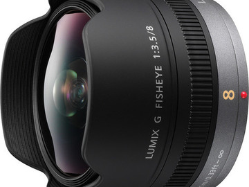 Rent: Panasonic Lumix G Fisheye 8mm/F3.5 Lens