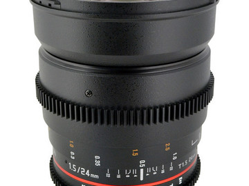Rent: Rokinon 24mm T1.5 Cine ED AS IF UMC Lens for Canon EF Mount