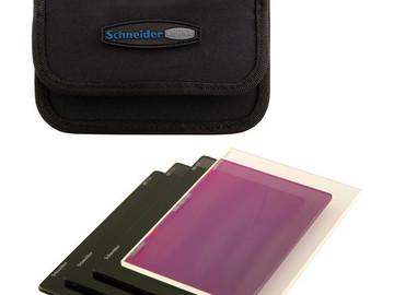 """Rent: Schneider 4 x 5.65"""" Filter Kit - ND 0.3, 0.6, 0.9, 1.2, 1.8"""