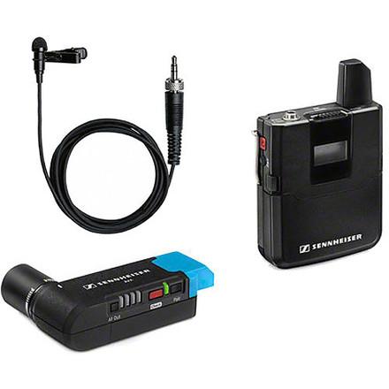 (3) Sennheiser AVX Camera-Mountable Lavalier Wireless Set