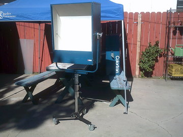 Rent: Colortran 1K/2K/3K 4K large area Scoop Softlight with Stand