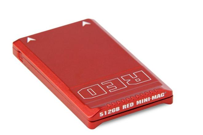 RED 512Gb Mini-Mag Card