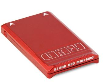 Rent: RED 512Gb Mini-Mag Card