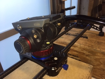 """Rent: Benroe 36"""" Slider with Manfrotto 502 head"""