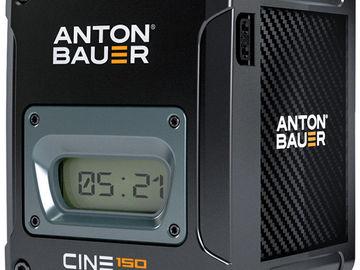 2 x Anton Bauer Cine 90 V-Mount Batteries + Dual Charger