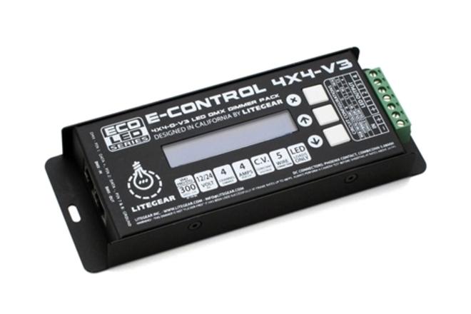 LiteGear E-Control 4x4-V3 LED/DMX Dimmer Pack