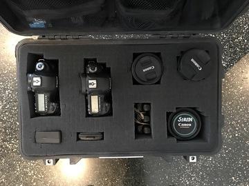 Rent: Canon 5D Mark IV & 5D Mark III & Lenses Full Kit