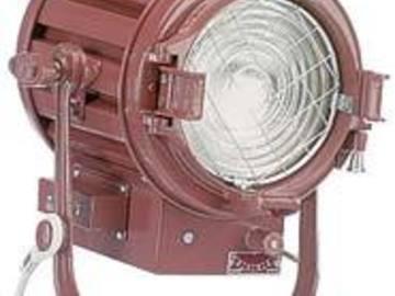 Rent: Mole Richardson 1k 407 Baby Solarspot w/ 4 leaf barn doors