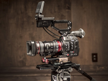 Rent: Canon C300 Mkii with Canon 18-80 Cine Zoom
