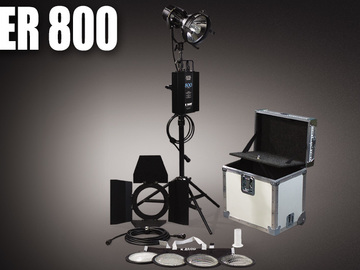 Rent: 3 Ton Lighting Package, C-Stands, Stingers, Bags