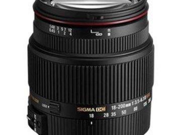 Rent: Sigma 18-200mm EF f/3.5 DC OS HSM