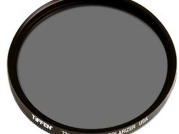 Rent: Tiffen 72mm Circular Polarizer Filter