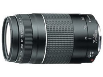 Rent: Canon EF 75-300mm f/4-5.6 III Telephoto Zoom Lens