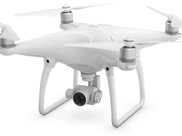 Rent: DJI Phantom 4 With 3 Batteries and 65gb memory card and case